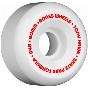 Bones 60mm SPF Pro Hawk Mini Cube Wheels - White