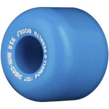 Powell Peralta 64mm Mini-Cubic Wheels - Blue