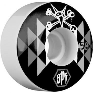 Bones 58mm SPF Fireball Wheels - White