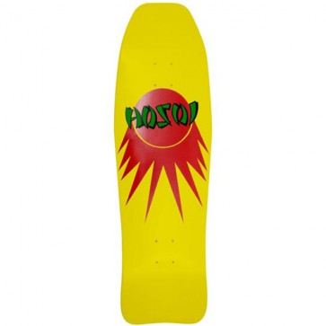 Hosoi Skateboards Fish '83 Deck - Yellow