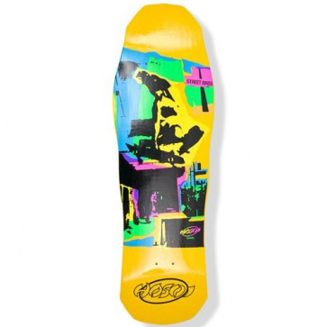 Hosoi Skateboards Pop Art '87 Deck - Yellow