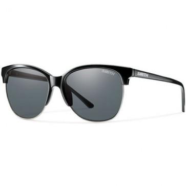 Smith Women's Rebel Polarized Sunglasses - Black/Grey