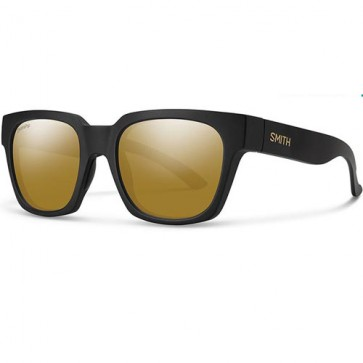 Smith Comstock Polarized Sunglasses - David Luiz/Chromapop Bronze Mirror