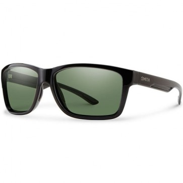 Smith Drake Polarized Sunglasses - Black/ChromaPop+ Grey Green