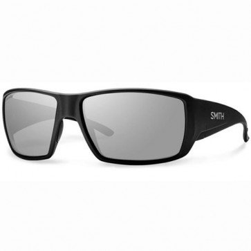 Smith Guide's Choice Polarized Sunglasses - Matte Black/Chromapop+ Platinum