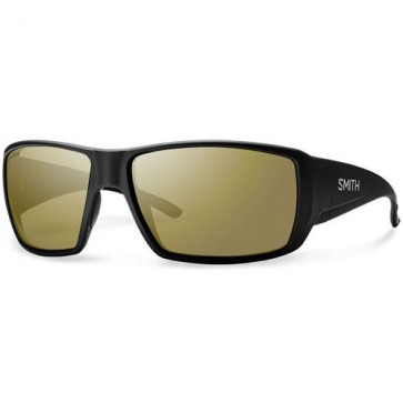 Smith Guide's Choice Polarized Sunglasses - Matte Black/Chromapop+ Bronze