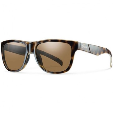 Smith Lowdown Slim Polarized Sunglasses - Tortoise/ChromaPop Brown