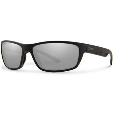 Smith Ridgewell Polarized Sunglasses - Matte Black/Chromapop+ Platinum