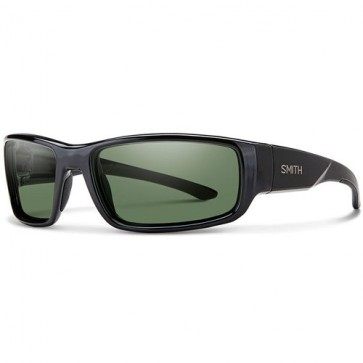 Smith Survey Polarized Sunglasses - Black/Grey Green