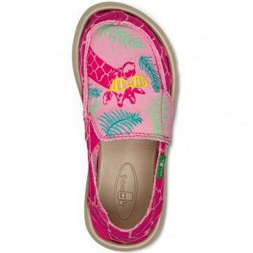 Sanuk Youth Scribble II Shoes - Giraffe Palm