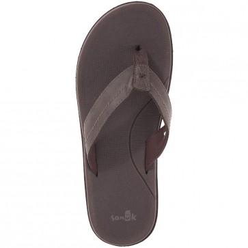 Sanuk Planer Sandals - Brown