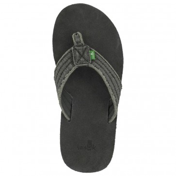 Sanuk Fraid Not Sandals - Charcoal