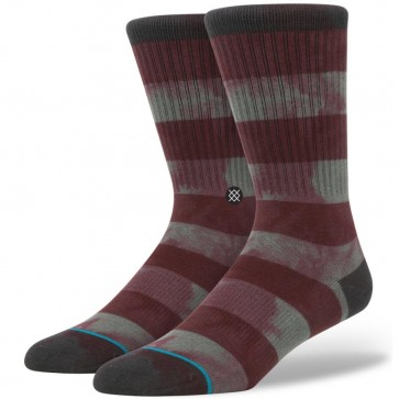 Stance Wells Socks - Maroon