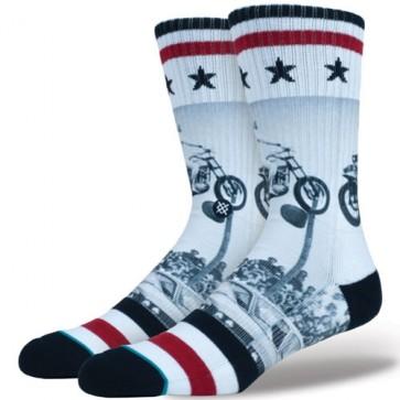 Stance Dare Devil Socks - White