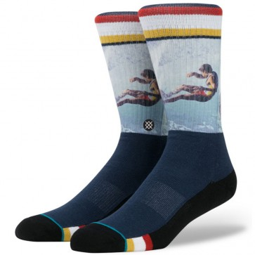Stance Curren Socks - Navy