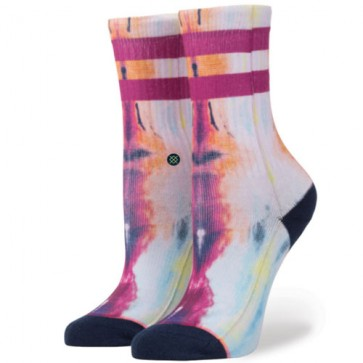 Stance Women's Star Burst Socks - Navy