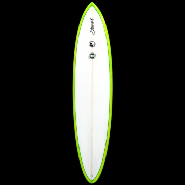 Stewart Surfboards - 8'0'' Funboard Comp Surfboard - Green Swirl