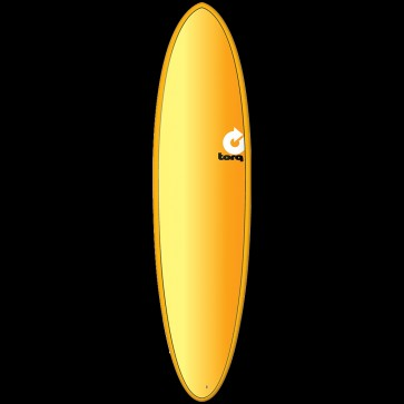 Torq Mod Fun 7'2 x 20 1/4 x 2 3/4 Surfboard - Orange/Yellow/Red