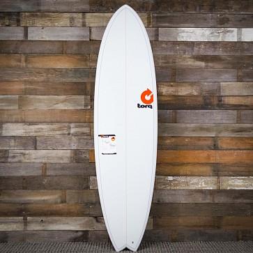 Torq Mod Fish 7'2 x 22 1/2 x 3 Surfboard - Pinline - Deck