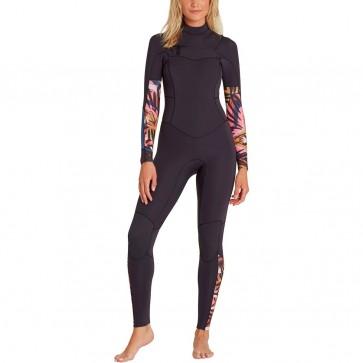 Billabong Women's Salty Dayz 4/3 Chest Zip Wetsuit - Front