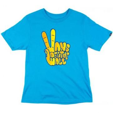 Vans Youth Thumb War T-Shirt - Turquoise