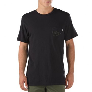 Vans J.T. Pocket T-Shirt - Black/Olive
