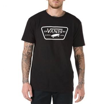 Vans Full Patch T-Shirt - Black/White