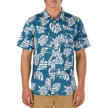 Vans JT Solana Short Sleeve Shirt - Blue Ashes