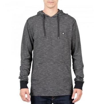 Volcom Bonus Long Sleeve Hooded Top - Black