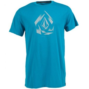 Volcom Youth Overlap T-Shirt - Atlantic