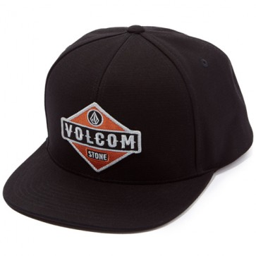 Volcom Cresticle Hat - Blackity Back