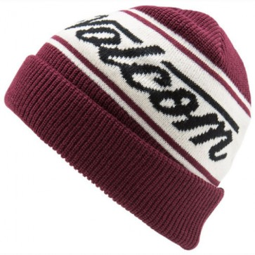 Volcom Full Sign Beanie - Merlot