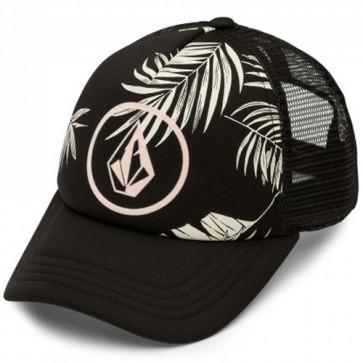 Volcom Women's Ocean Drift Trucker Hat - Black Combo