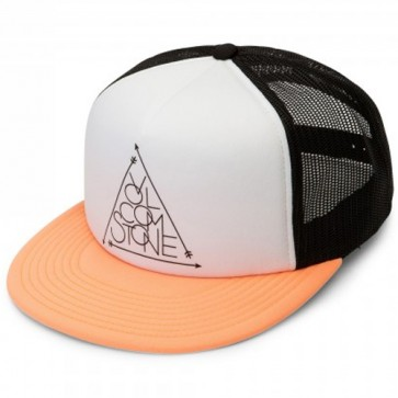 Volcom Women's Tidal Motion Trucker Hat - Citrus