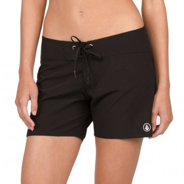 Volcom Women's Simply Solid Boardshorts - Black