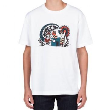 Volcom Youth Homeland T-Shirt - White