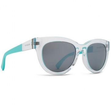 Von Zipper Women's Queenie Sunglasses - Crystal Mint/Grey