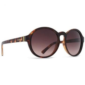 Von Zipper Women's Lula Sunglasses - Tortoise Black Satin/Brown Gradient