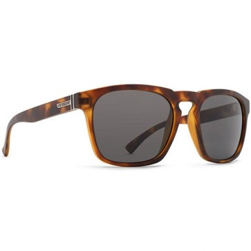 Von Zipper Banner Sunglasses - Tortoise Satin/Grey