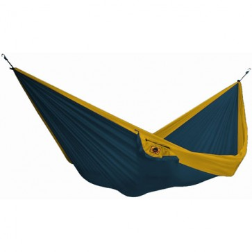Ticket To The Moon Single Hammock - Royal Blue/Dark Yellow