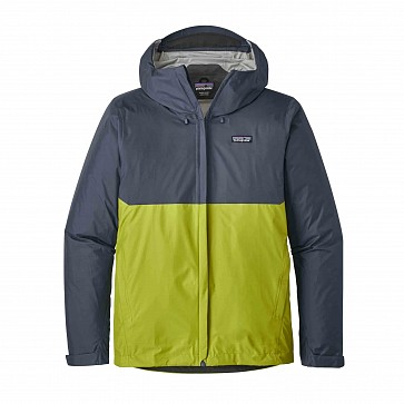 Patagonia Torrentshell Jacket - Dolomite Blue/Light Gecko Green