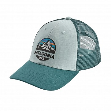 Patagonia Fitz Roy Scope LoPro Trucker Hat - Atoll Blue