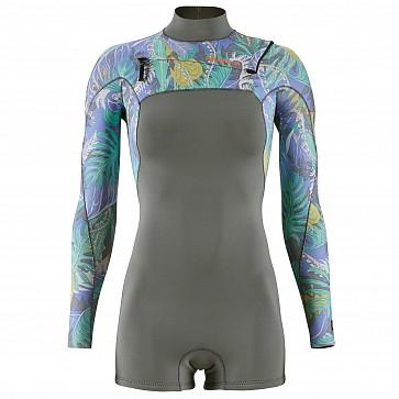 Patagonia Women's R1 Lite Yulex 2mm Spring Wetsuit - Jurassic Fern Forest