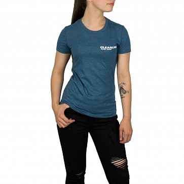 Cleanline Women's New Rock T-Shirt - Heather Deep Teal