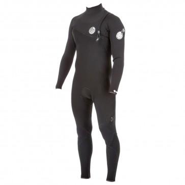 Rip Curl E-Bomb 3/2 Zip Free Wetsuit - Black