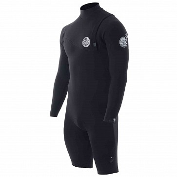 Rip Curl E-Bomb Pro 2mm Long Sleeve Zip Free Spring Wetsuit