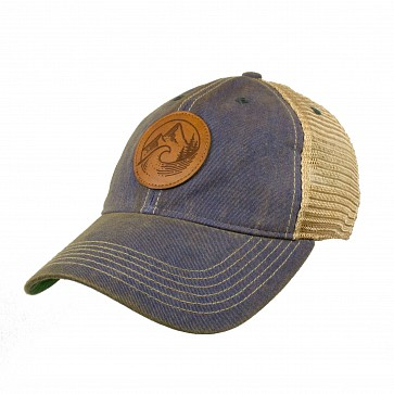 Cleanline Youth PNW Mesh Hat - Blue
