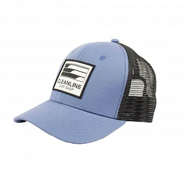 Cleanline Youth Lines Mesh Hat - Slate/Black