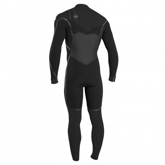 O Neill Psycho Tech 4 3 Chest Zip Wetsuit - Black Midnight Oil 657ac2f79