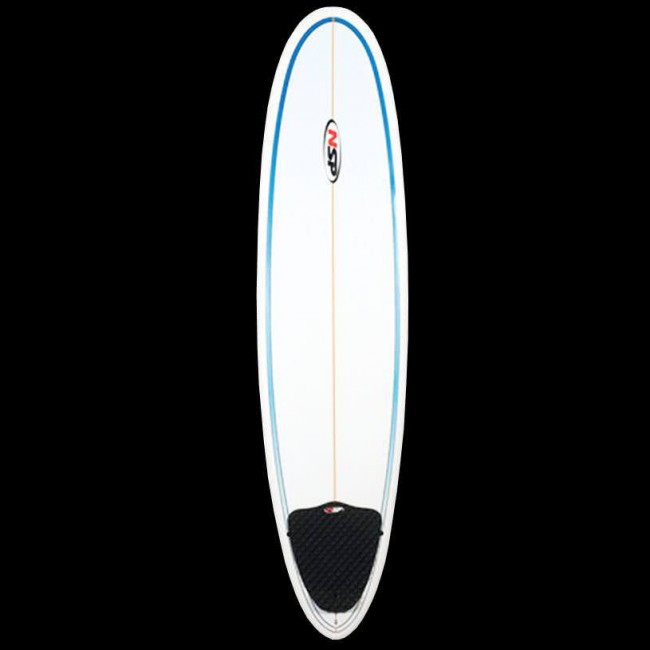 Global Surf Industries - 7 6   NSP Funboard Surfboard - Blue - Cleanline  Surf 5736a07a9c29